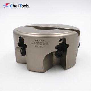 CZH-8125B40R 90 degree Face milling cutter head for CNC machining center