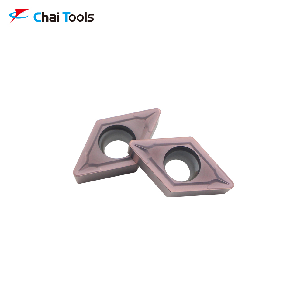 DCMT11T308-GM CT8225 CNC Tungsten Carbide turning insert for stainless steel machining
