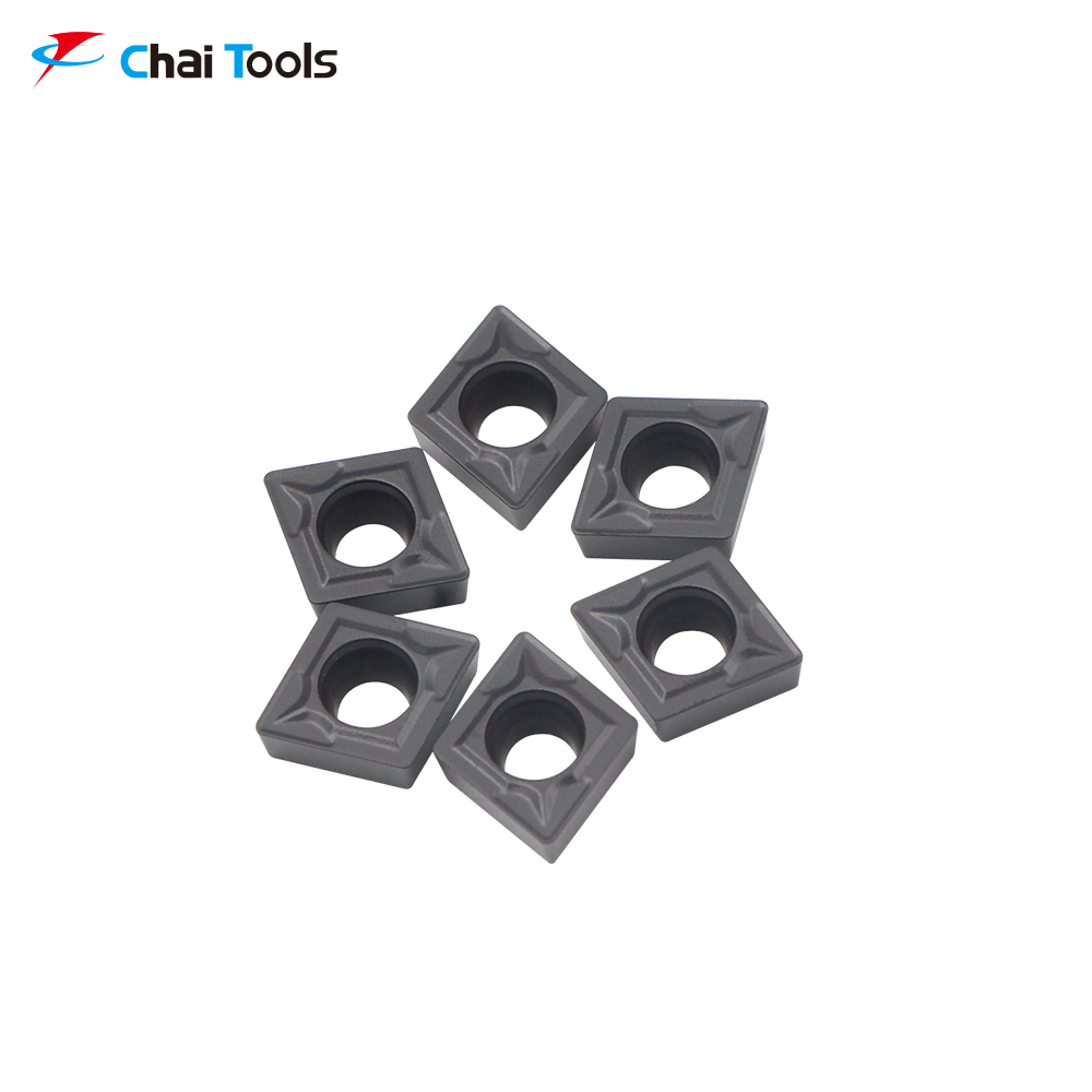 CCMT060204-GM CT5215 CNC Tungsten Carbide turning insert for stainless steel machining