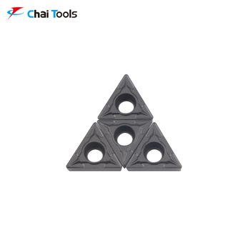 TCMT110204-GM CT5215 CNC Tungsten Carbide turning insert for steel machining