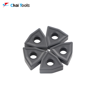 WNMG080408 CT7215 CNC Tungsten Carbide turning insert for cast iron machining