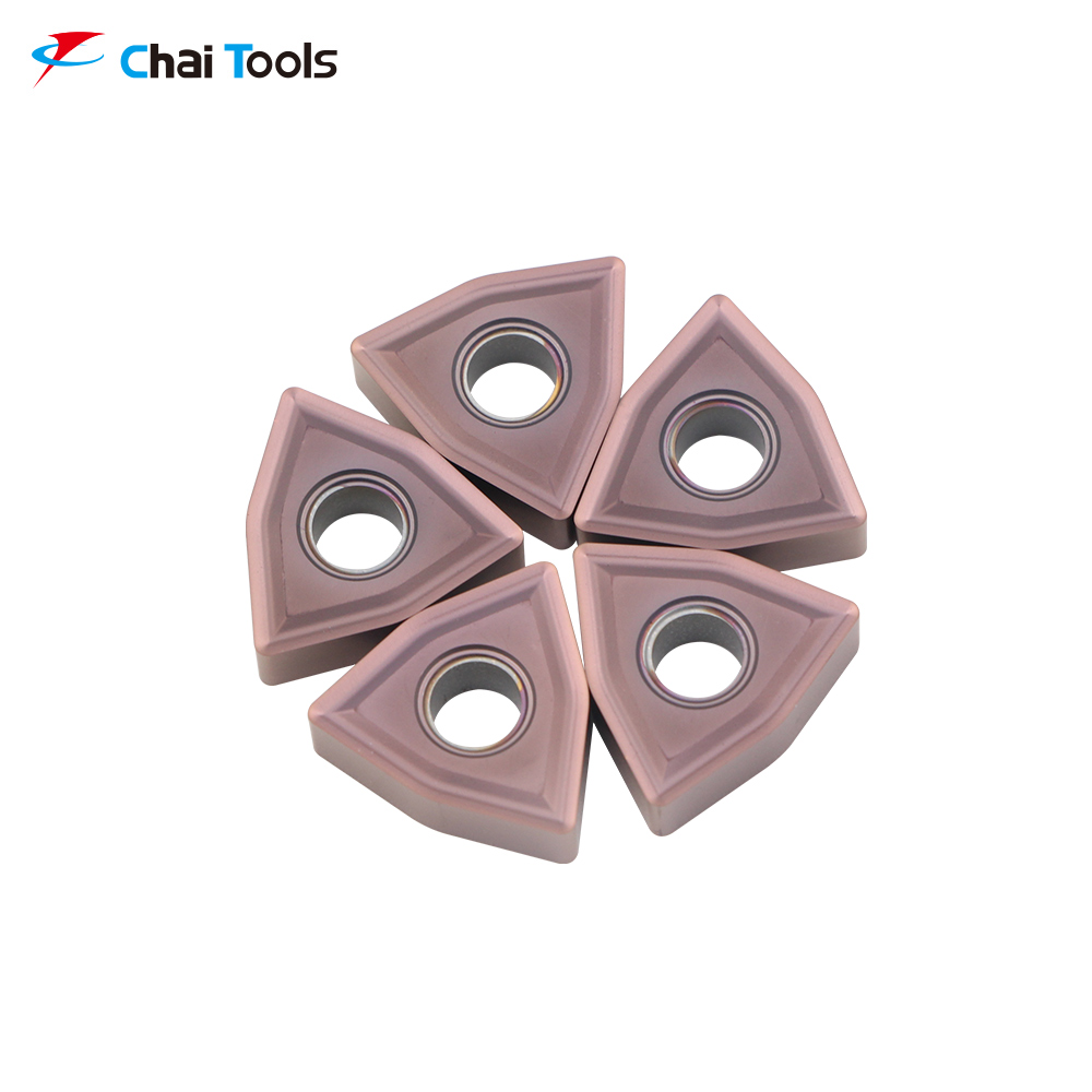 WNMG080408-MS CT8225 CNC Tungsten Carbide turning insert for stainless steel machining